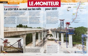 Chantier LGV - LE MONITEUR